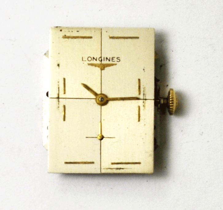 Primary image for Longines 370 17J Mechanical Wind Watch Movement Running Silver Dial