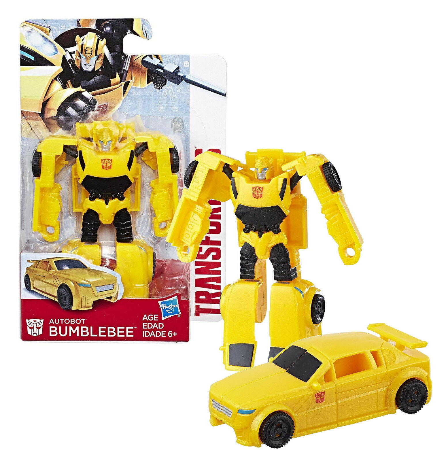 "Transformers Authentics Bumblebee 4"" Figure New in Package"