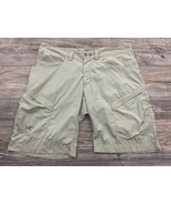 Arc'Teryx Shorts Men's 38 Beige/Khaki Chino Stretchy Poly/Spandex Hiking... - $69.28