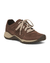 Merrell Women's Siren Guided Lace Leather Q2 Sneaker, Espresso, Size 5.5 - $49.39