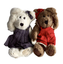 Boyds Bears Belle & Alexandra 10 Inch Plush Stuffed Bear Enesco - $70.11