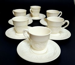 "Vintage :6 sets  Wedgwood Patrician Cup  and Saucer Set Cream 2.5"" 1927 ... - $12.61"