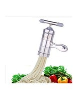 Stainless Steel Manual Noodles Press Machine Pasta Maker with 5 Noodle M... - €42,81 EUR