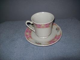 Cup and saucer set - $8.00