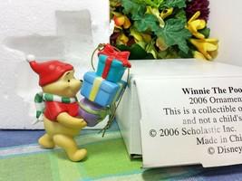 Disney Grolier Winnie the Pooh Porcelain ornament 2006 - $34.95