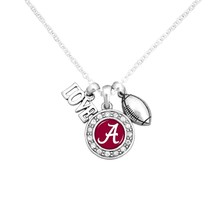"""Alabama Love, Football, and Logo Charms 16"""" Necklace - €10,61 EUR"""