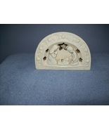 One piece Nativity set with t-light holder - $12.00