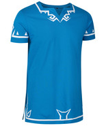 Zelda breath of the wild blue hylian link t-shirt costume cosplay fancy dress  - $28.00
