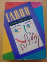 TABOO THE  GAME OF UNSPEAKABLE FUN! VINTAGE MILTON BRADLEY BOARDGAME - C... - $8.89