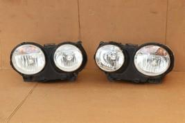 04-07 Jaguar XJ8 XJR VDP Headlight Lamp HALOGEN Set L&R POLISHED image 1