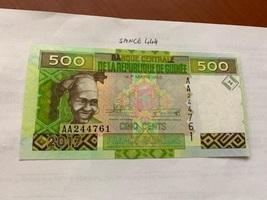 Guinea 500 francs uncirc. banknote  1960 - $5.95