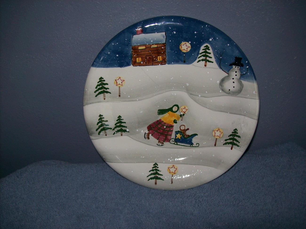 Decorative Christmas Plate by Atol Endres & Decorative Christmas Plate by Atol Endres and 50 similar items