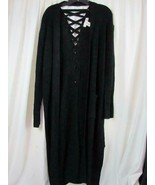 NWT Planet Gold Plus 1X Long Sleeve Long Buttonless Cardigan Org $49.00 - $28.49