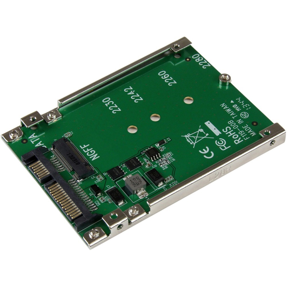 StarTech.com SAT32M225 M.2 SSD to 2.5in SATA Adapter Converter - 1 x SSD Support - $37.52