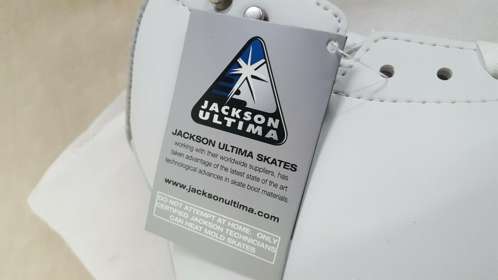 Jackson Ultima Ice Skates Freestyle Fusion Ladies FS2190 (Size 6, Width A/B) image 9
