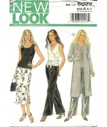 New Look Sewing Pattern 6029 Womens Top Tunic Pants Skirt New - $9.98