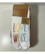 Rae Dunn Ankle Socks Be Proud PrideWomen's 10 Pack Size 5-10  Love Wins... - $13.86