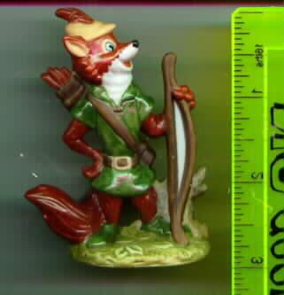 Disney Robin Hood Porcelain Miniature Rare