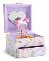 JewelKeeper Musical Jewelry Box with Spinning Unicorn, Glitter Rainbow a... - €15,80 EUR