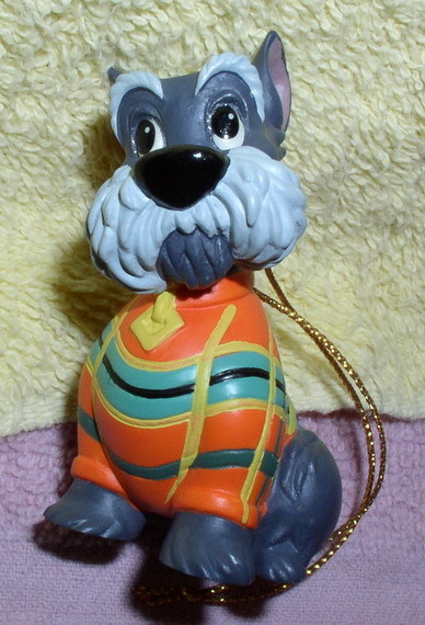 Disney  Scottie Dog Ornament from Lady and the Tramp