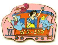 Disney Snow White, Dumbo, Chishire Cat Japan pin/pins