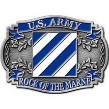 United States American Army 3rd Division Belt Buckle - $15.14