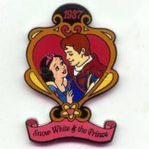 Disney Snow White & Prince  dated  1937  movie pin/pins - $15.47