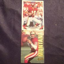 Joe Montana - QB Football Trading Cards AA-19FTC3010 Vintage image 3