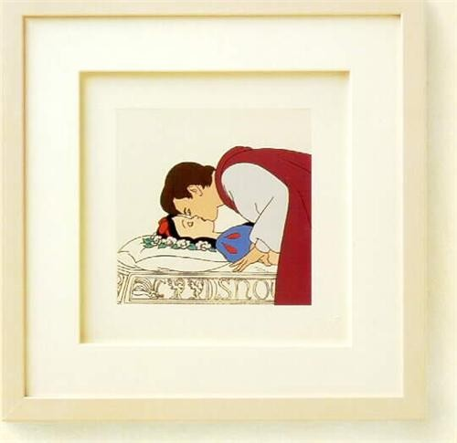 Disney Snow White and Prince Charming Framed Art