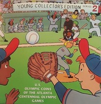 1995 US Coins of the Atlanta Centennial Olympic Games Series 2 Young Col... - $41.15