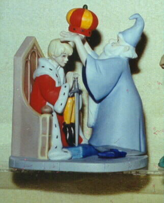 Disney Sword in the Stone  Porcelain  Figurine