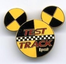 Disney Test Track Mickey Head Logo  pin/pins - $16.76