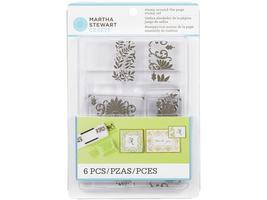 Martha Stewart Stamp Around the Page Scrolls & Boughs Clear Stamp Set #40-24026