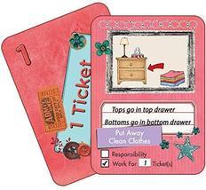 NEATLINGS Self-Care Chore Deck | Reward Responsibility | Pink - $12.95