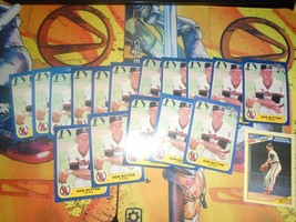 1986 Fleer Don Sutton Angels #170 Baseball 16 Card Lot - $2.95