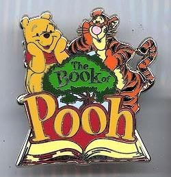 Disney Tigger and Winnie The Pooh - The book of Poo pins/pins