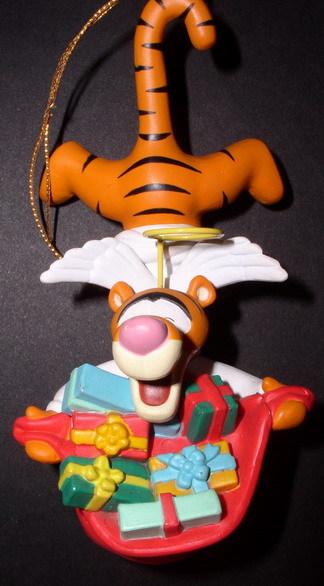 Disney Tigger angel Winnie the Pooh Figurine