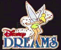 Disney Tinkerbell Cruise Line Disney Dreams Pin/Pins