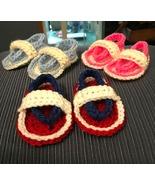 Crochet Baby Sandals/0-3 months - $10.00