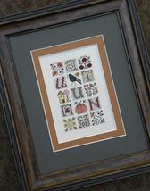 Autumn Jumble fall cross stitch chart Drawn Thread - $8.10