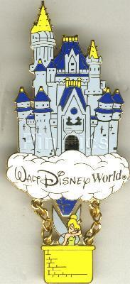 Disney Tinkerbell WDW - Castle Balloon Pin/Pins