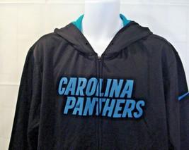 Carolina Panthers Nike Mens Lg Therma-Fit Full Zip Hoodie Jacket NFL Foo... - $39.67