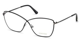 a6abe1b2071b1 Authentic Tom Ford Eyeglasses TF5518 001 Shiny Black Frames 57MM Rx-ABLE -   207.89