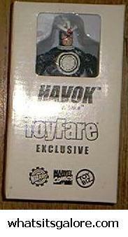 X-Men Havok action figure Toyfare exclusive