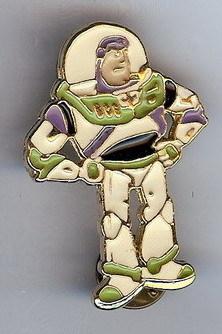 Disney Toy Story 1 Buzz Lightyear Standing Pin/Pins
