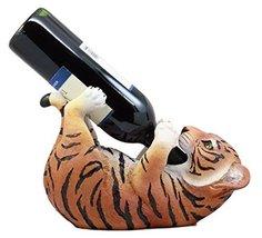 "Ebros Gift Thirsty Baby Bengal Tiger Cub Wine Bottle Holder Figurine 10""... - $24.69"