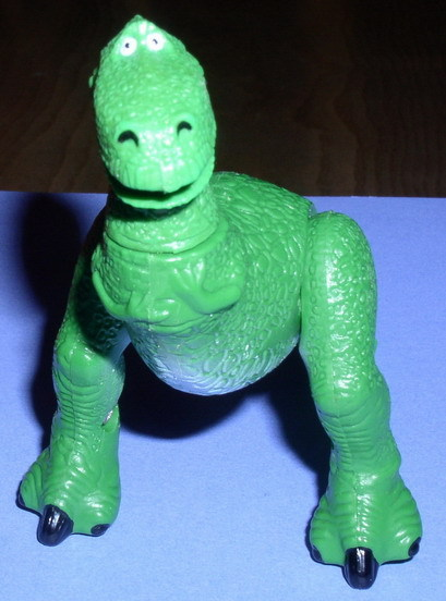 Disney Toy Story 1 Rex Collectible Figure  5 inches