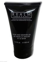Realm Men Bath and Shower Gel With Fragrance Soap Body Wash 3.3 Oz Lot o... - $51.38