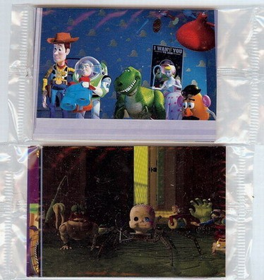 Disney Toy Story 2 sealed packs trading card Collection