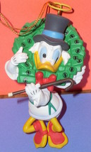 Disney Uncle Scrooge Angel Figurine Ornament - $29.99